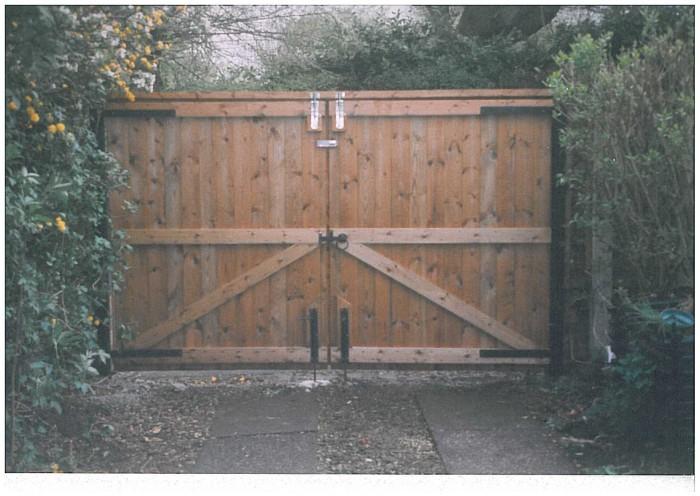 Wooden Gates Swann Fencing